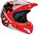 Fox Racing MX Off-Road V1 Race Helmet Red YOUTH Small