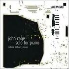 JOHN CAGE: SOLO FOR PIANO USED - VERY GOOD CD