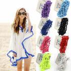 1Yards/Lot PomPom Trim Ball Fringe Ribbon DIY Sewing Lace 10MM Home Party Decor