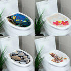 DIY Toilet Seats Wall Decor Stickers Decal Vinyl Mural Sticker Decoration Hot
