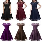 New Women Lace Evening Formal Prom Wedding Party Dress Bridesmaid Cocktail Dress