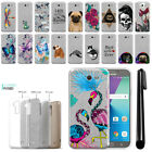 "For Samsung Galaxy J7 2017/ J7V J727 5.5"" Sparkling Silver TPU Case Cover + Pen"