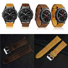 Premium Replacement Genuine Leather Watch Band Wrist Strap for Samsung Gear S3