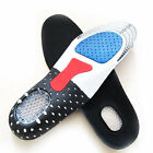 Orthotic Arch Support Soles Sports Pain Relief Shoe Shock Absorb Gel Heel Pad