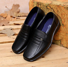 Men's Formal Pointed Toe Oxfords Leather Shoes Casual Dress