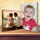 """Buy 1 Get 1 Free Personalised Photo on Canvas Print 20"""" x 16"""" Framed A2"""