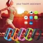 Bluetooth Smart Bracelet Wristband Fitness Waterproof For Android IOS