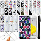 "For HTC Bolt / 10 Evo 5.5"" Sprint Ultra Thin Clear TPU Case Phone Cover + Pen"