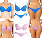 Lepel Bow Push Up Bikini Set Bikini Top Bikini Bottoms Swimwear Beachwear