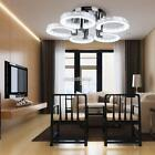 90W 5 LED Light RED Ring Ceiling Light Fixture Pendant Lamp Lighting Chandelier