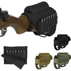 Portable Adjustable Tactical Butt Stock Rifle Cheek Rest Pouch Holder Pack Bag