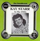 KAY STARR - THE UNCOLLECTED KAY STARR: IN THE 1940S NEW CD