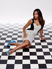 BNWT ROCHELLE HUMES STRIPED BODYCON ILLUSION DRESS  SIZE 10 RRP £74