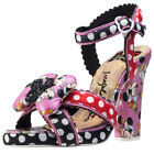 Irregular Choice Dotty Minnie Womens Shoes Black Red New Shoes