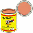1 Pint 1 Shot CORAL Paint Lettering Enamel Pinstriping - One Shot