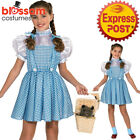 CK1037 Classic Licensed The Wizard of Oz Dorothy Child Book Week Dress Costume