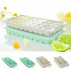 Silicone Baby Food Tray Mould Mold With Lid Quick-Frozen Cube Ice Maker Tool