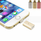 Magnetic Adapter Micro USB&Lightning Charger Cable For Samsung S6 S7 iPhone 6 7
