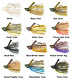 Strike King Hack Attack Fluorocarbon Flipping Jig - Choice of Colors and Sizes