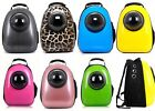 Pet Cat Small Dog Carrier Bag Travel Bubble Backpack