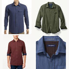 New w/ Tags Tommy Bahama Men's Havana Squared Long Sleeve Casual Camp Shirt