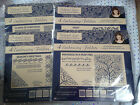 Tattered Lace Embossing Folders (4 piece sets) - VARIOUS CHRISTMAS **LAST STOCK*