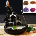 20Pcs Porcelain Backflow Incense Cone Burner Tower Censer Stick Holder New LA