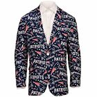 Forever Collectables NFL Men's New England Patriots Ugly Business Jacket, Navy