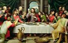 The Lord's Supper Quilt Block Multi Sz FrEE ShiPPinG WoRld WiDE (R2