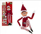 VIP Elf Bendable Poseable Wired BOY GIRL - Elf Sits On The Shelf For Christmas
