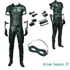 DC Green Arrow Season 4 Oliver Queen Cosplay Costume Full Suit Halloween Outfit