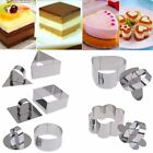 Stainless Steel Cookie Cutters Pastry Baking Mould Biscuit Cake Decorating Craft