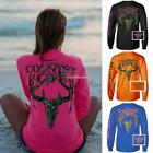 Women Fashion O-Neck Long Sleeve Letter Print Pullover Casual T-Shirt Tops SH