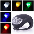 Outdoor Bicycle Safety Bike Front / Rear Silicone Warning Lamp LED Frog Light