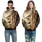 Men Casual Long Sleeve Printed Drawstring Pocket Pullover Hoodie B20E 01