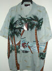 NEW TROPICAL VACATION HAWAIIAN SHIRT BY SUN & MOON   SIZE XL or 2X