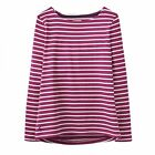 Joules Harbour Jersey Top - Rubystp  (X) Colour Ruby Stripe