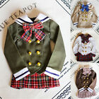 1/4 BJD Doll SD Dollfie DZ DOD LUTS Japanese Students Bjd Clothes Outfit