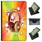 Best Amazon Headphones For Kindles - Love Music With Headphones & Notes Universal Leather Review