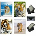 Wild Tiger Universal Folio Leather Case For Samsung Tablets