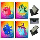 Mythical Magical Unicorns Dressing Up Universal Leather Case For Samsung Tablets