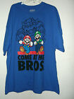NEW SUPER MARIO T SHIRT 3XL  4XL or 5XL MARIO & LUIGIE & BOWSER COME AT ME BROS