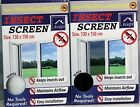 New Large Window Insect Screen Mesh Net Keep Out Mosquito Fly Bug Moth Netting