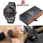 NAVIFORCE NF9024 Luxury Dual Men's Quartz Watch Analog Digital LED Wristwatch image