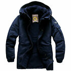 Southplay Mens Winter Waterproof Ski-Snowboard All Navy Jacket, SP117