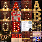Home Decor A-Z+& LED Marquee Letter Lights Vintage Alphabet Circus Light Up Gift