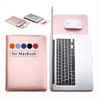 Waterproof PU Leather Laptop Sleeve Bag Cover Case for MacBook Air 11/13'' Pro