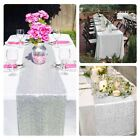 "12""x108"" Silver Sequin Table Runners For Wedding Sparkly Bling Party Decoration"