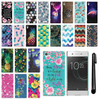 "For Sony Xperia XA1 5"" HARD Protector Back Case Phone Cover + PEN"