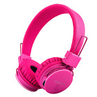 Kids Bluetooth Headphones Foldable Volume Limiting Wireless/Wired Stereo On Ear